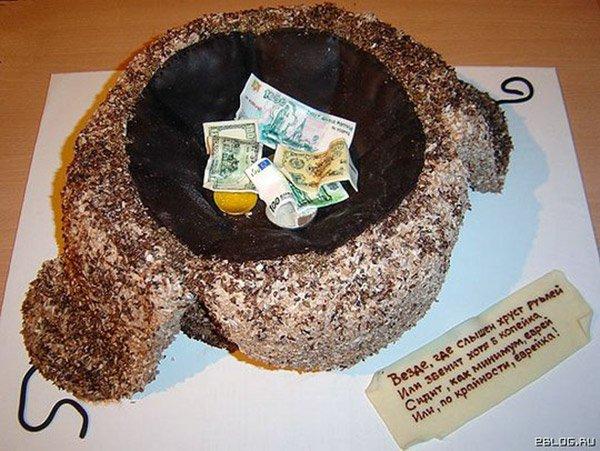 Торт креативного дизайна
