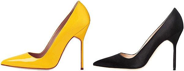 Красивая и модная обувь от Manolo Blahnik