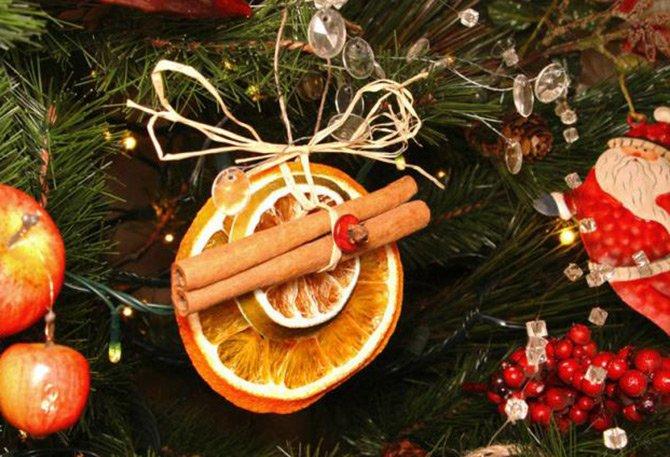 Съедобные украшения на елку