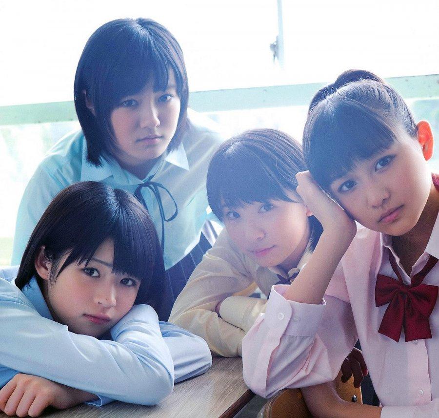 Красивые японские школьницы