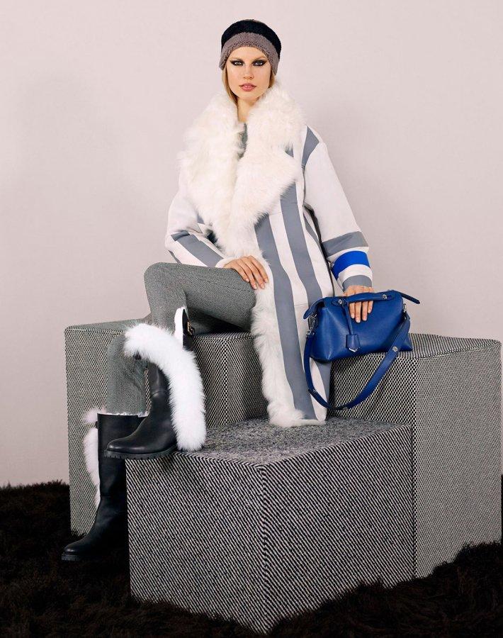 Fendi - осень и зима 2014-2015 Pre-Fall коллекция