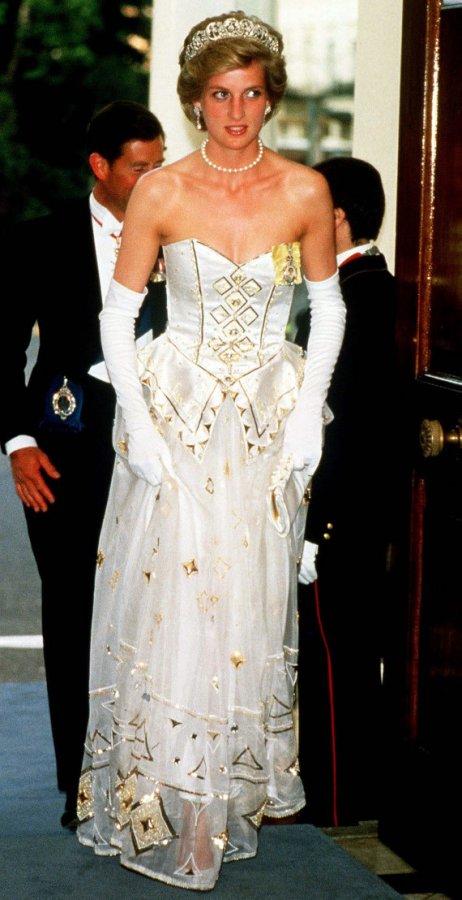 платье принцессы Дианы, фото