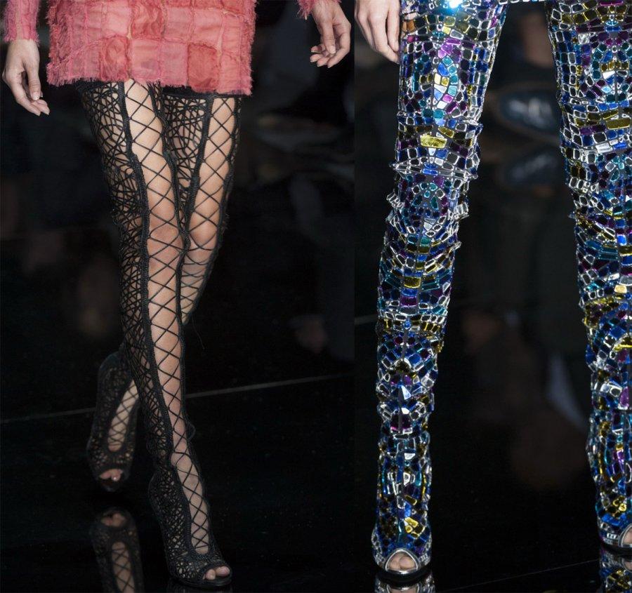 Модные женские сапоги весна-лето 2014, фото