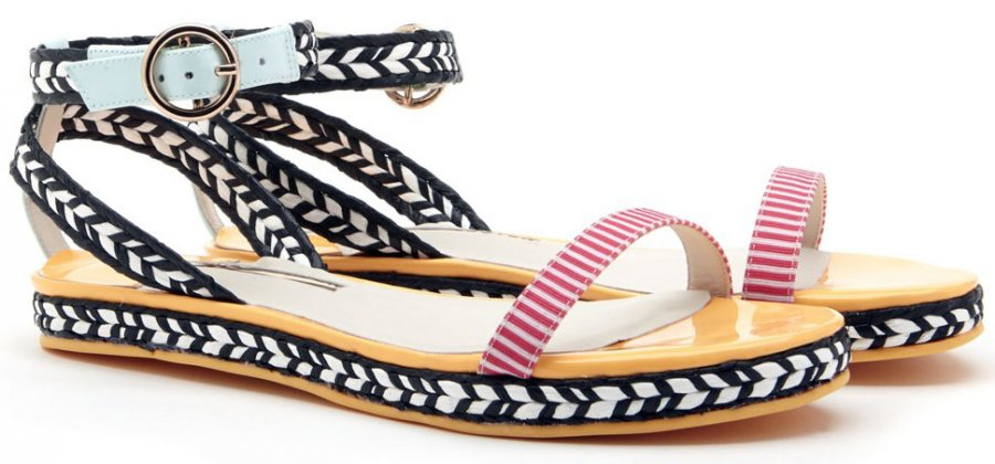 Модные женские сандалии весна-лето 2014