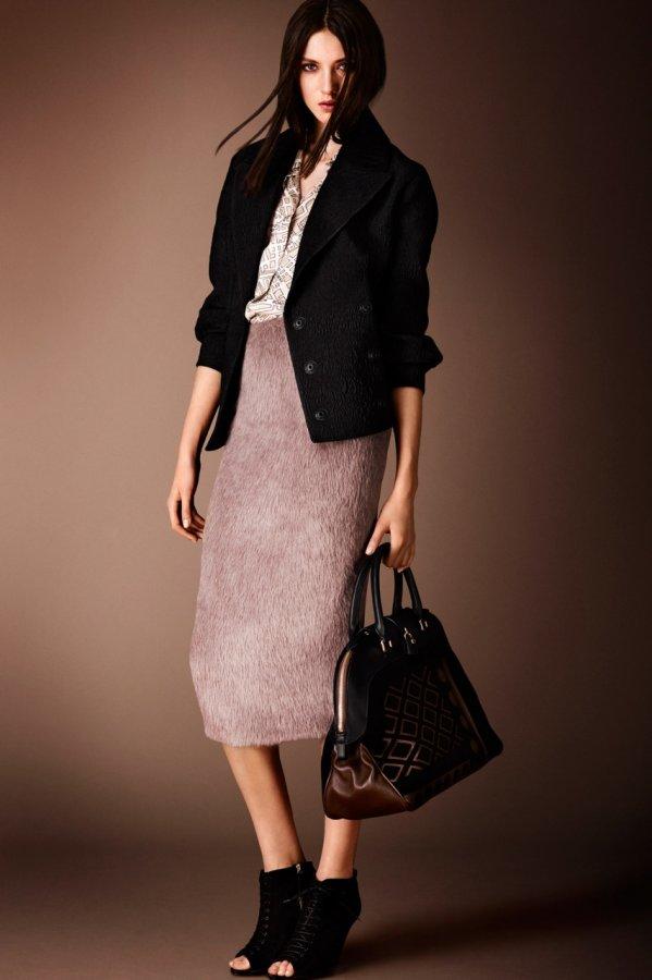 Модная одежда из коллекции Burberry Prorsum