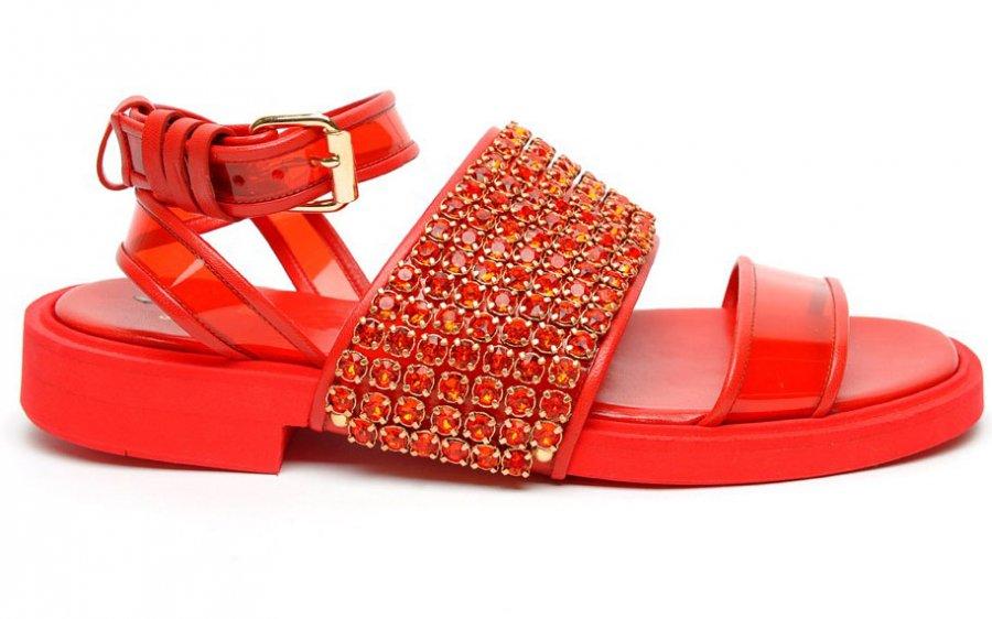 Модная женская обувь Givenchy – весна-лето 2014