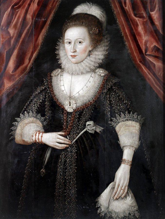 Портрет женщины XVII века