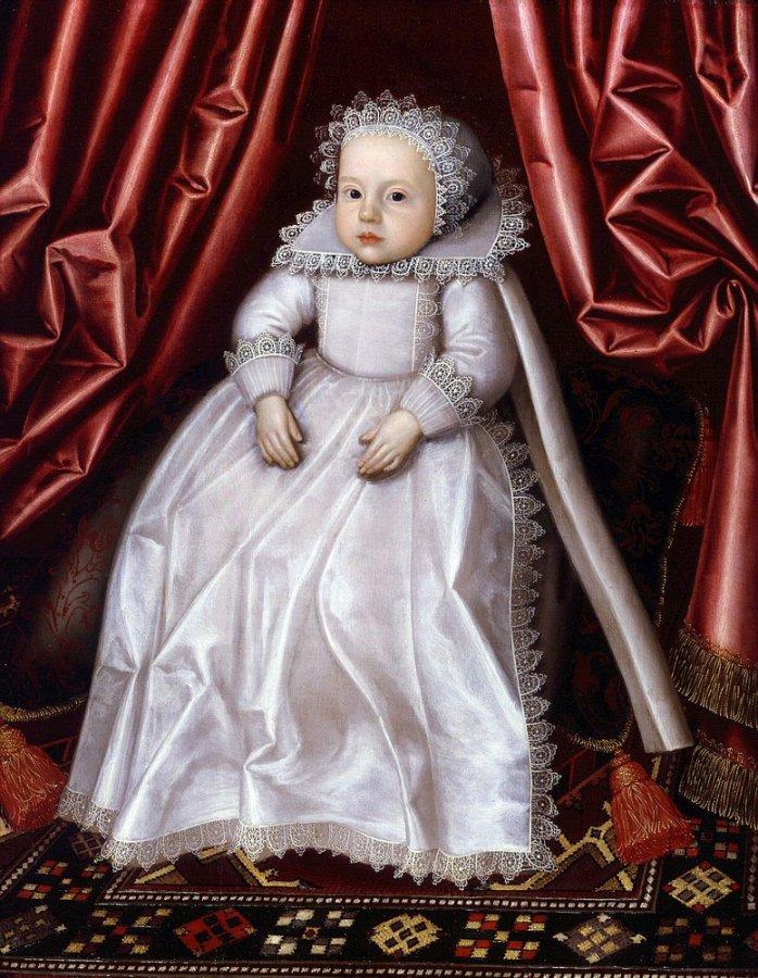 Портрет ребенка XVII века
