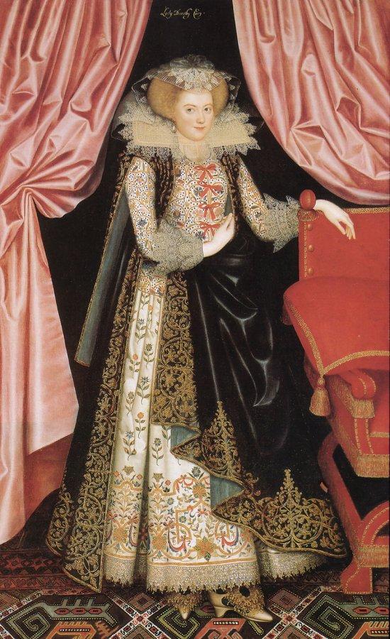 Мода XVII века, портрет