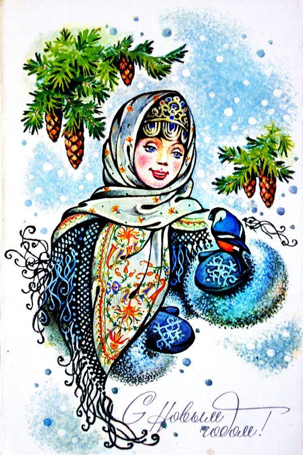Зимняя красавица – Снегурочка