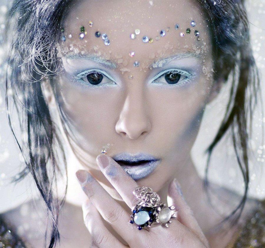 Макияж Снежная Королева, фото