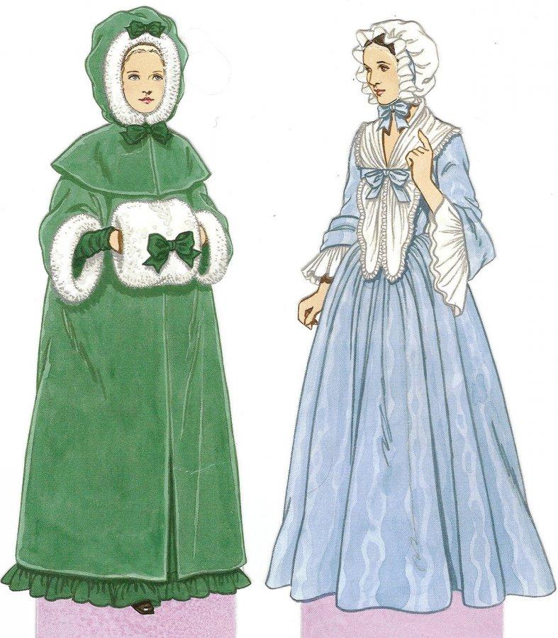 Одежда в стиле рококо