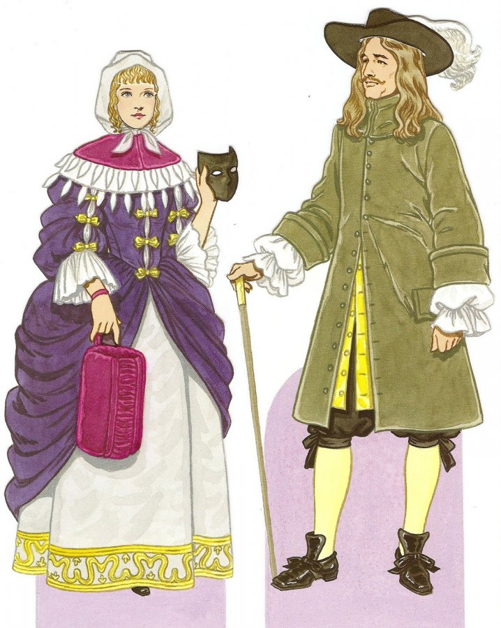 Одежда в стиле барокко