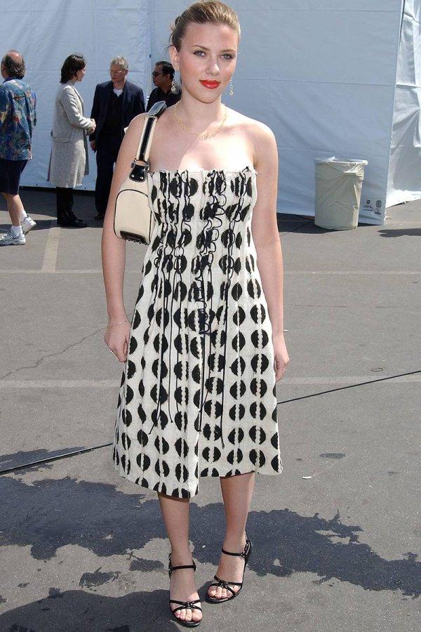 Скарлетт Йоханссон – фото в платье