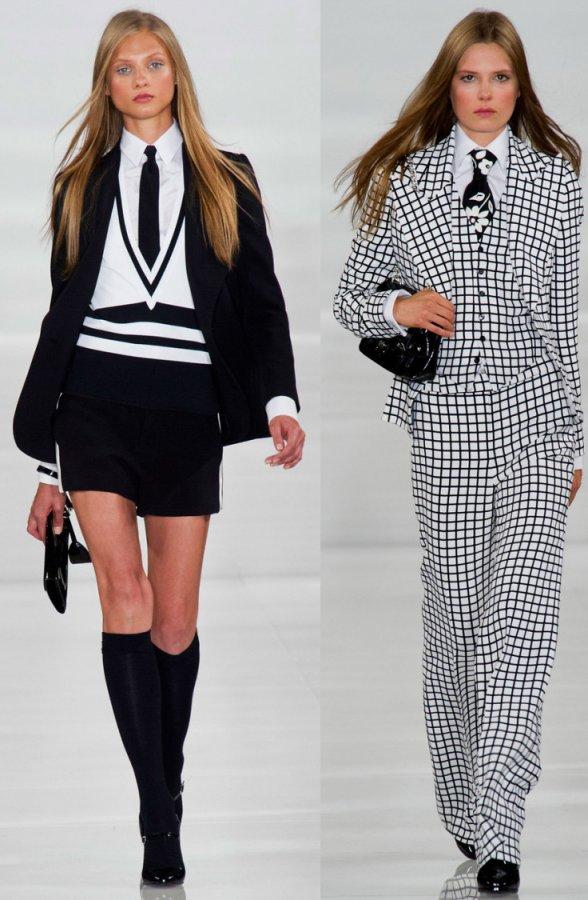 Модные женские костюмы Ralph Lauren 2014