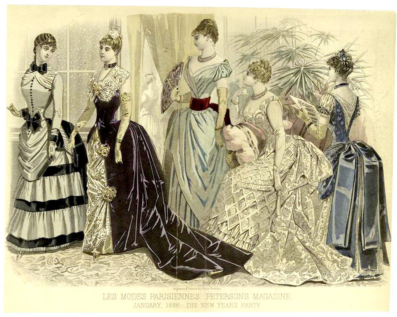история женского платья в картинках они выглядели