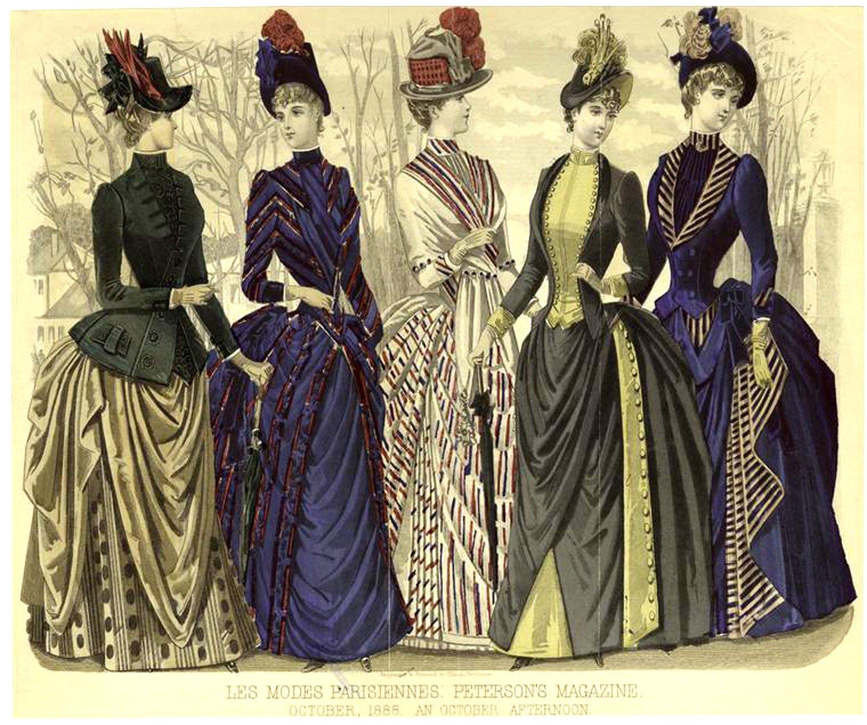 первого история женского платья в картинках если пара появляется