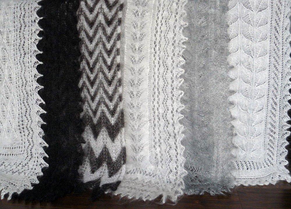 оренбургские пуховые платки из какой шерсти