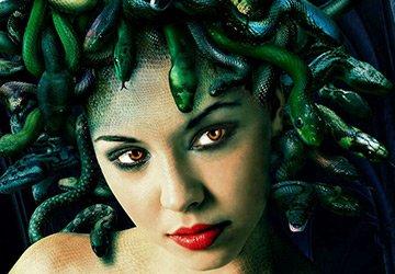 Медуза Горгона – аксессуары для волос