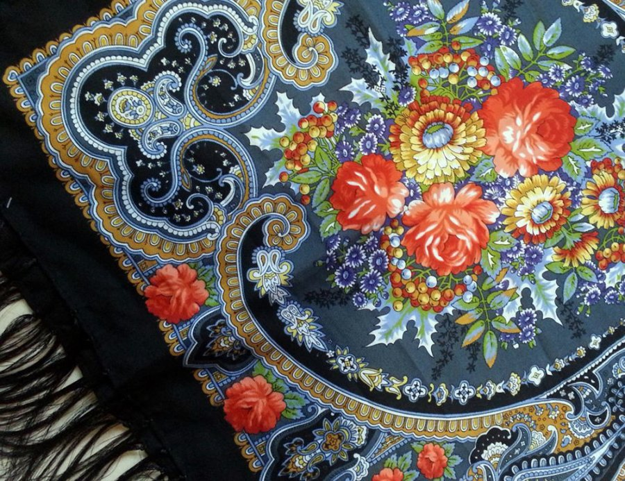 Русский стиль в моде и искусстве