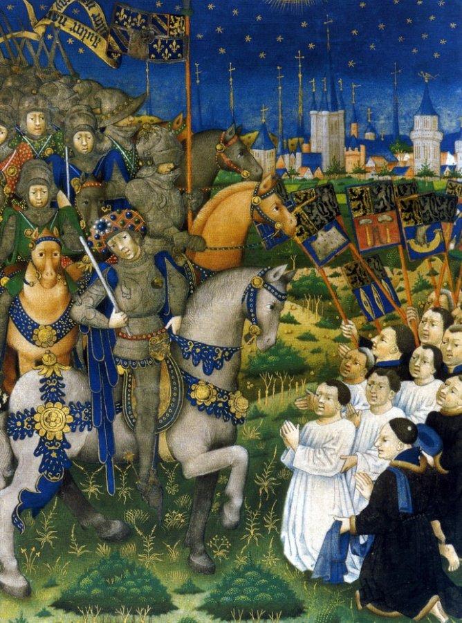Средневековая живопись и средневековые одежды