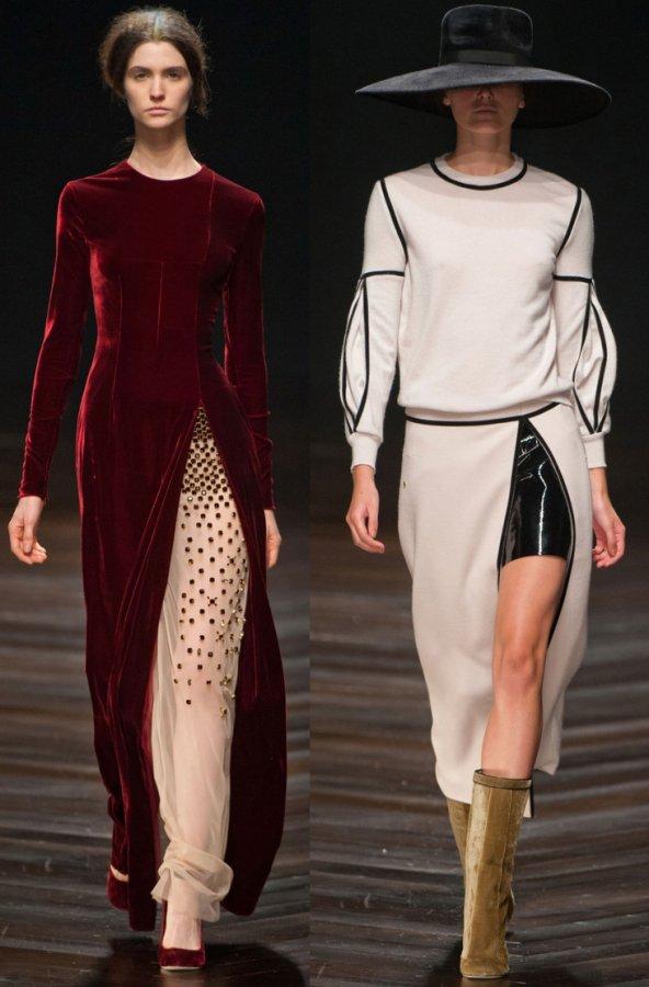 разрезы в современной моде