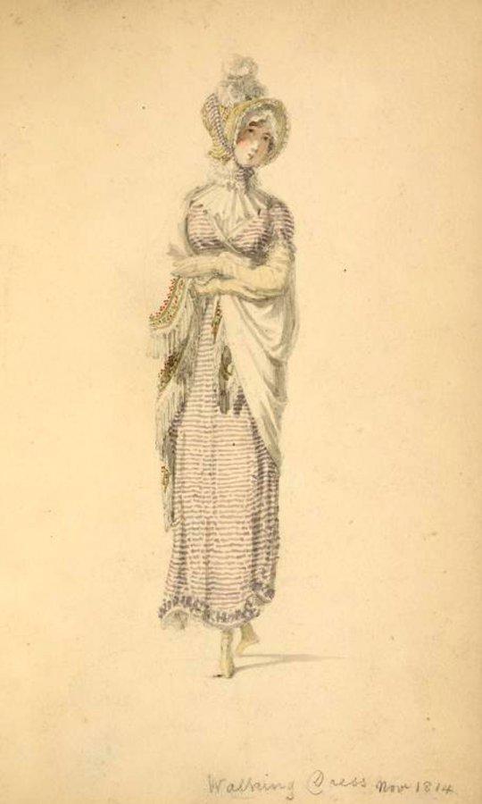 Платье начала XIX века