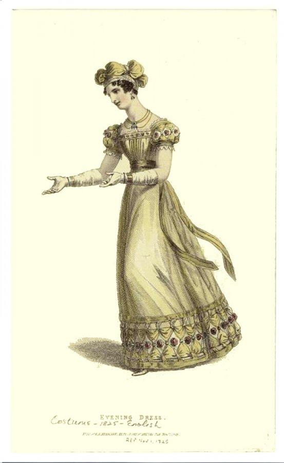 Антикварное платье XIX века