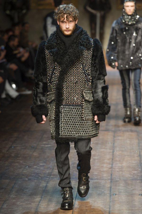 Мужское пальто Dolce & Gabbana, 2014-2015