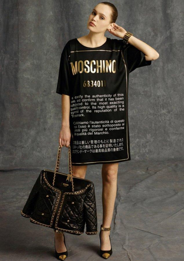 Модная одежда Moschino осень-зима 2014-2015