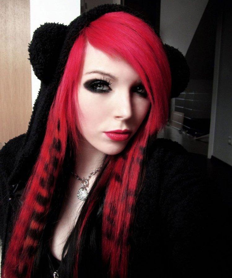 Красные волосы, фото