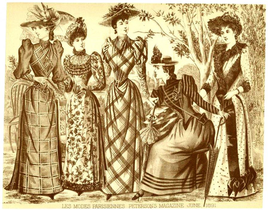 Винтажная мода иллюстрации