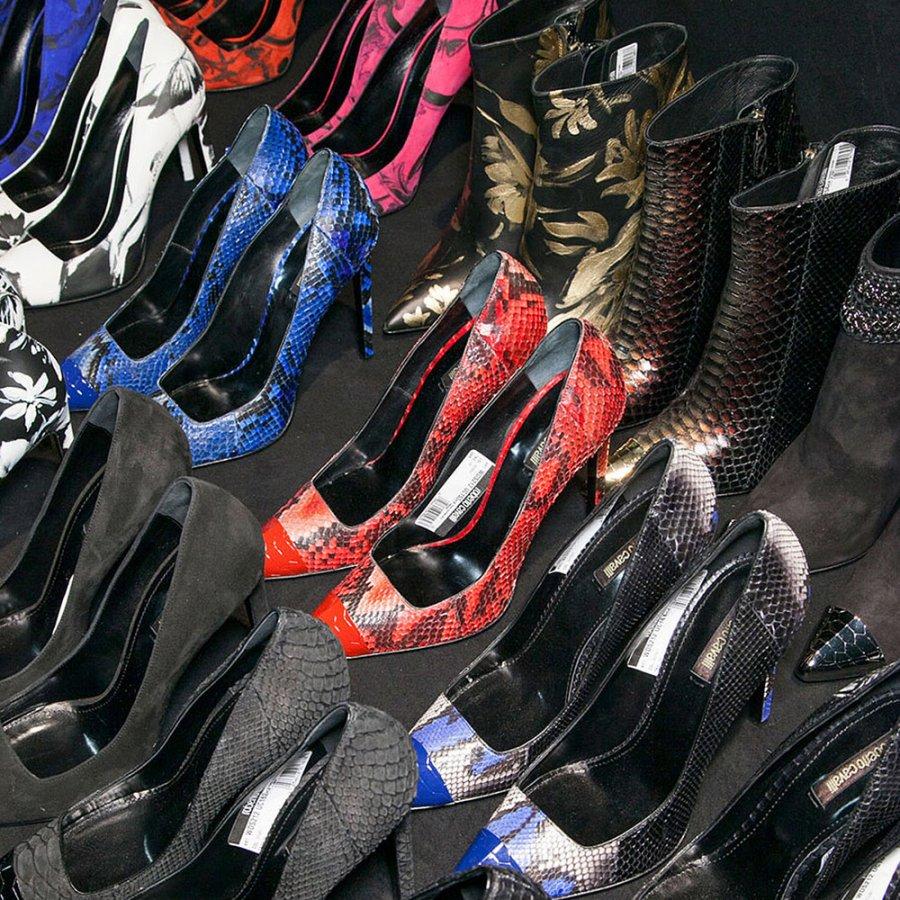 Обувь с заостренным носом Roberto Cavalli