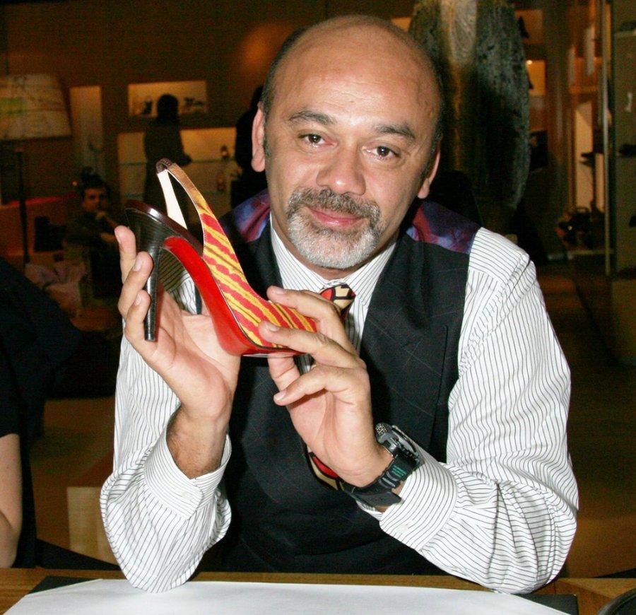 Дизайнер обуви Кристиан Лубутен