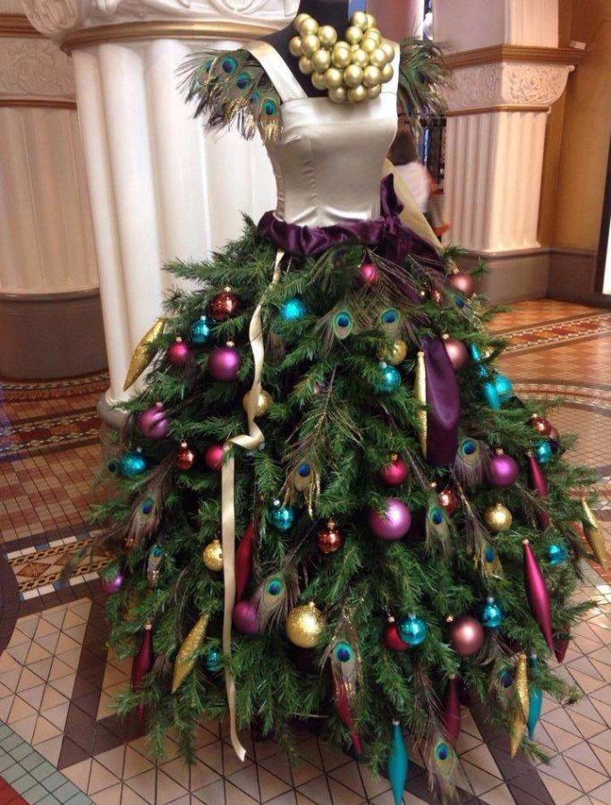 Платье – новогодняя елка