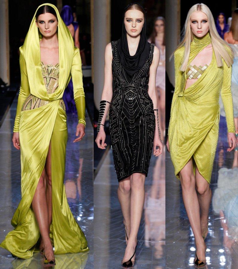 Versace Haute Couture весна-лето 2014