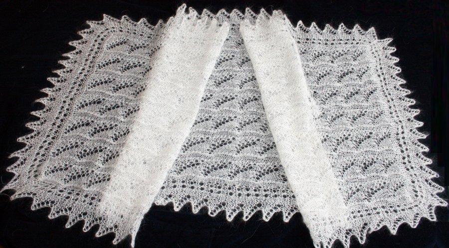 Оренбургские пуховые платки
