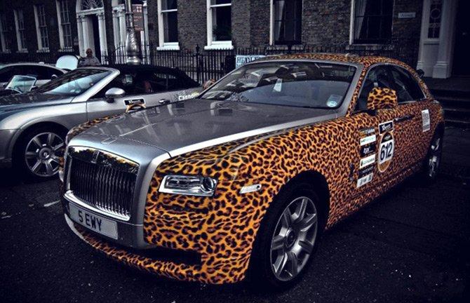 Леопардовый принт для автомобиля