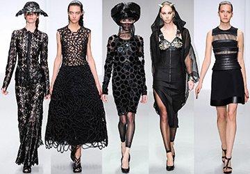 Черные платья 2014