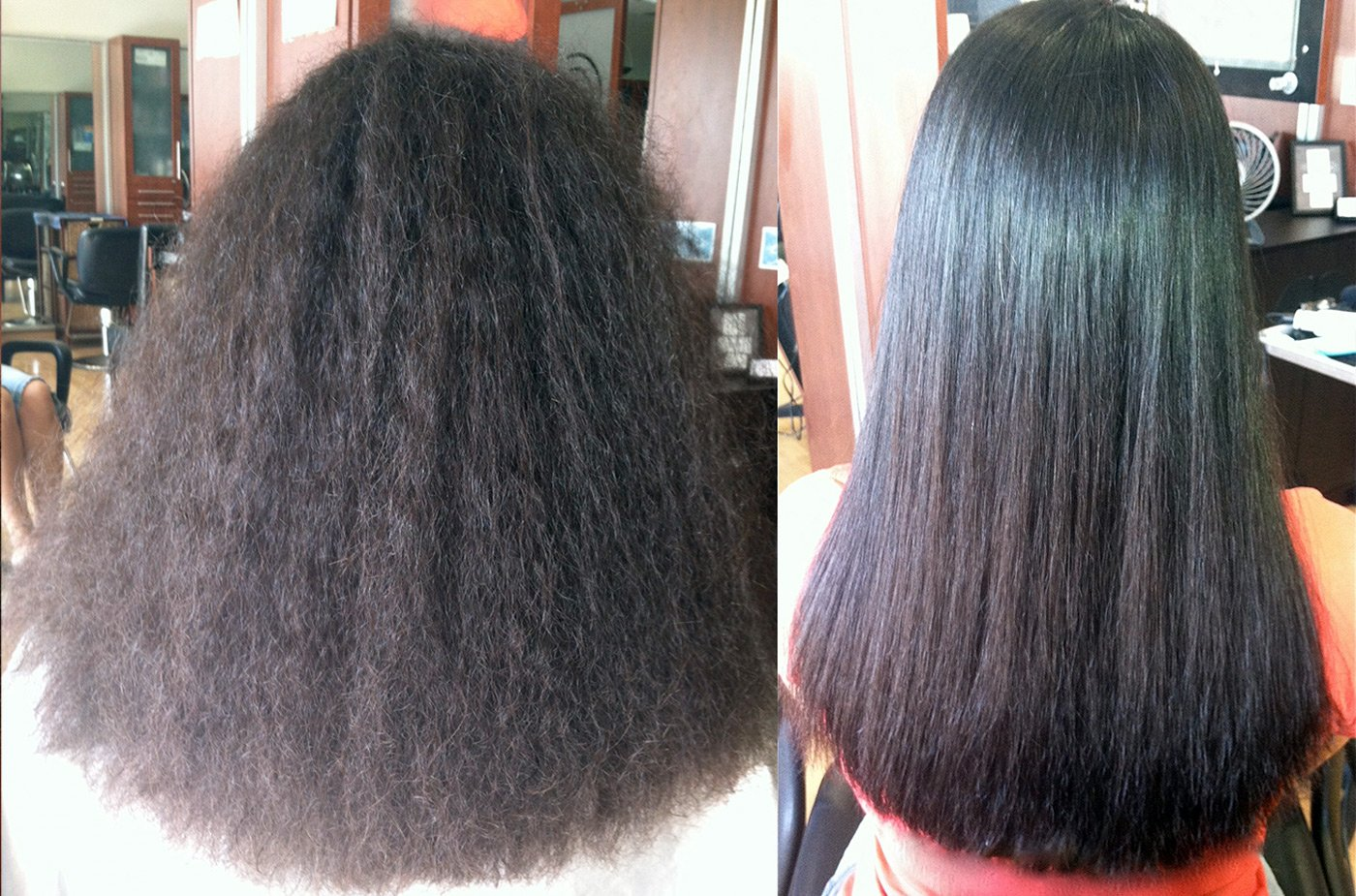Волосы кератин