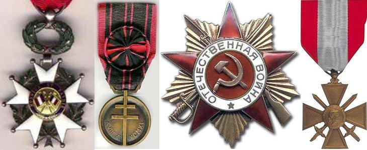 Награды Княгини Веры Оболенской