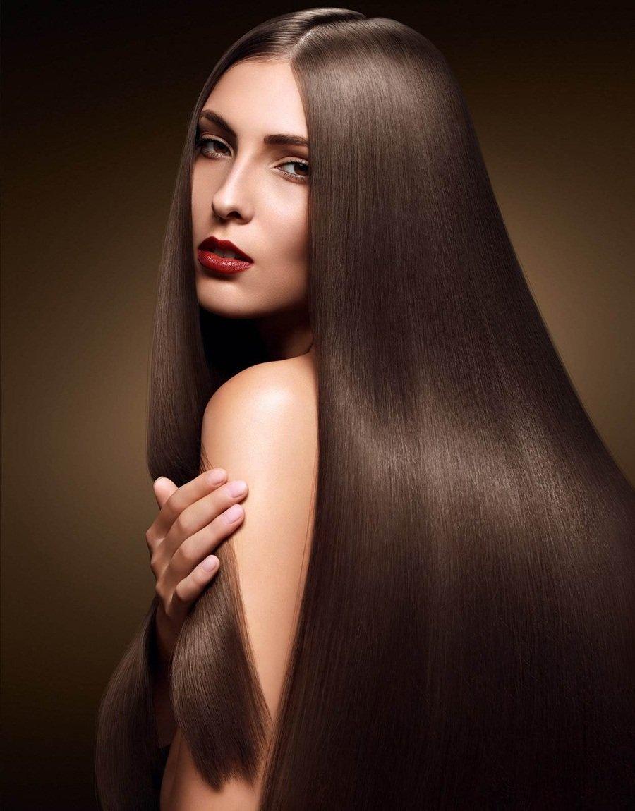 красивое девочки с красивыми волосами