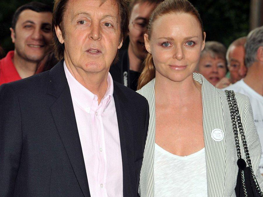 Стелла МакКартни – фото с отцом