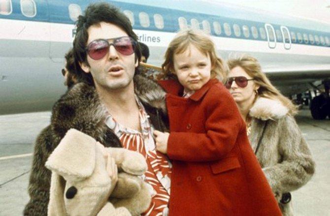 Стелла МакКартни с родителями