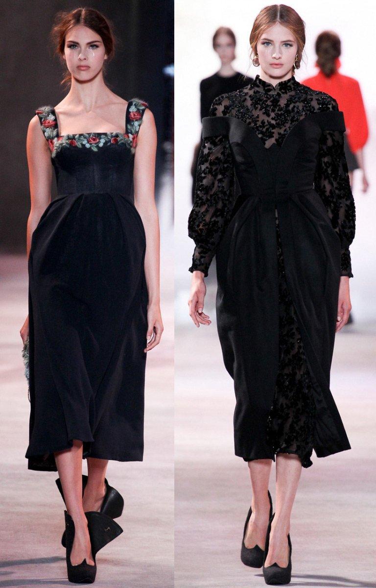 Прямиком из80-х: Рози Хантингтон-Уайтли вмини-платье собъемными плечами