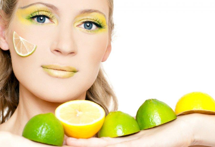 Лимон для красоты нашей кожи