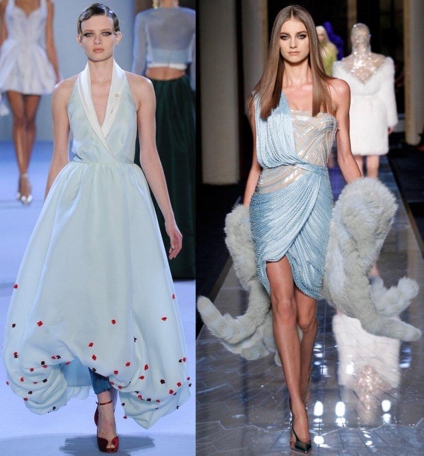 Платья Ulyana Sergeenko, Versace