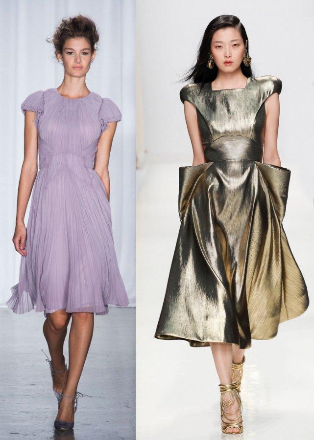 Красивые платья для девочек на выпускной 2014