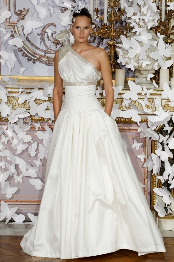 Свадебное платье весна-лето 2014, фото