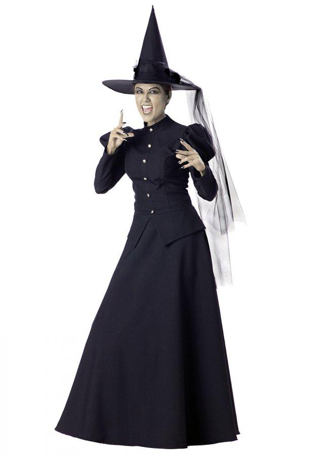 Костюм и образ ведьмы